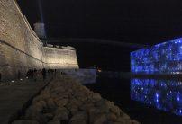 Vue du MUCEM et du Fort Saint-Jean de nuit