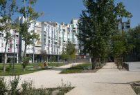 Espaces publics réhabilités de la Crique Sud
