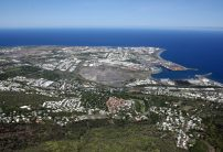 Aerial view Le Port (existing site)