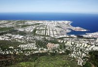 Aerial view Le Port (project)
