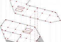 Une structure qui plombe depuis les étages courants jusqu'aux sous-sols