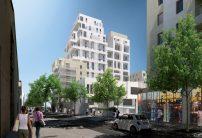 Depuis la rue Peyssonnel vers le boulevard Mirabeau vers le nord, phase 2