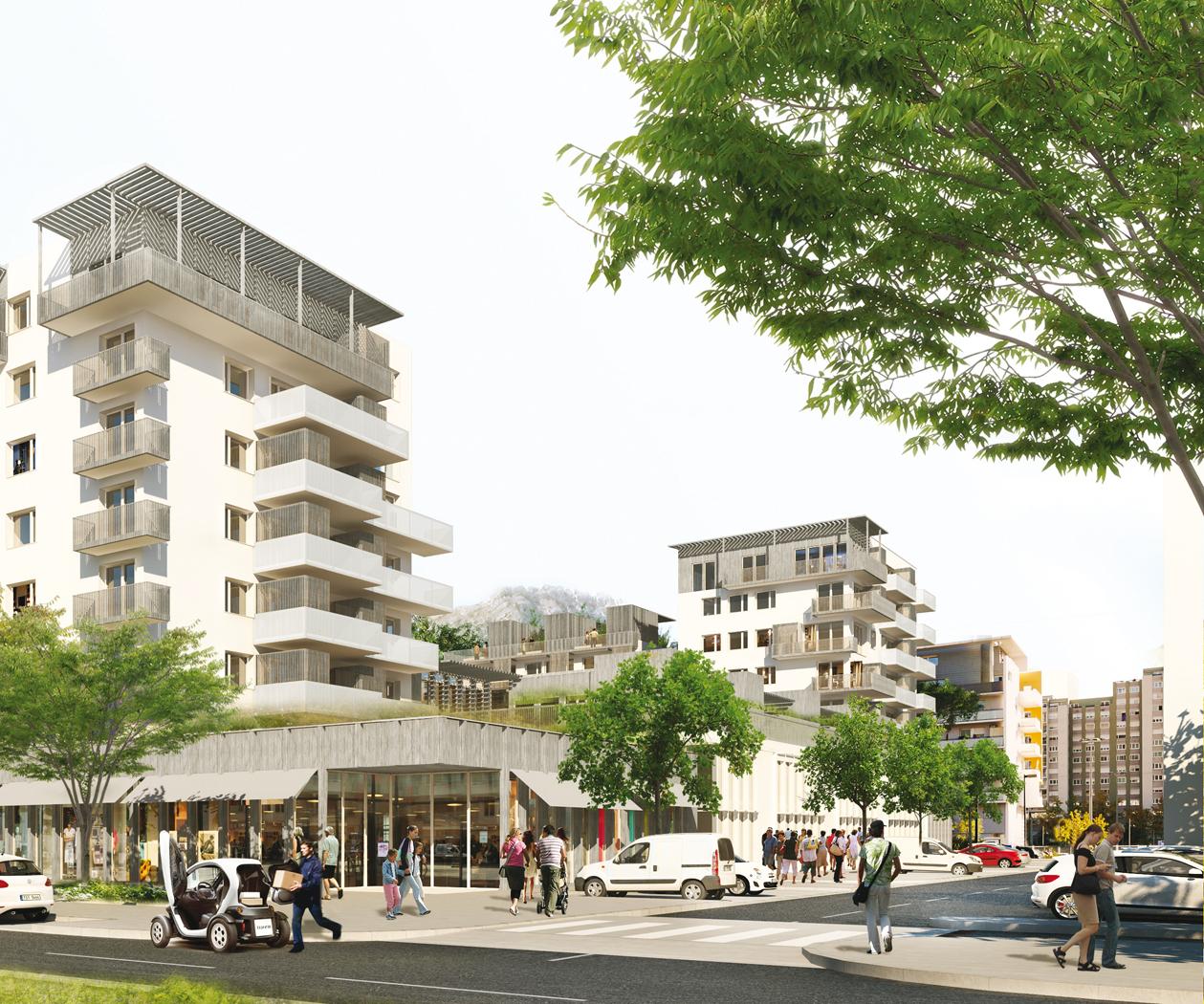 quartier vigny musset lot i lot 3 atl architectes urbanistes paysagistes. Black Bedroom Furniture Sets. Home Design Ideas